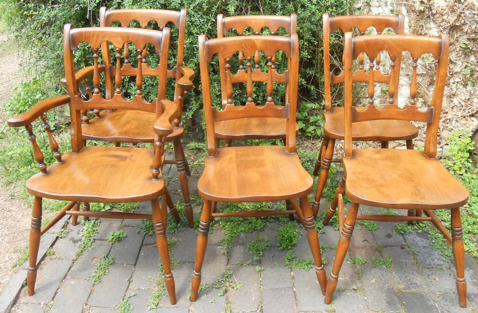 Windsor Style Dining Room Chairs (#19 of 20)