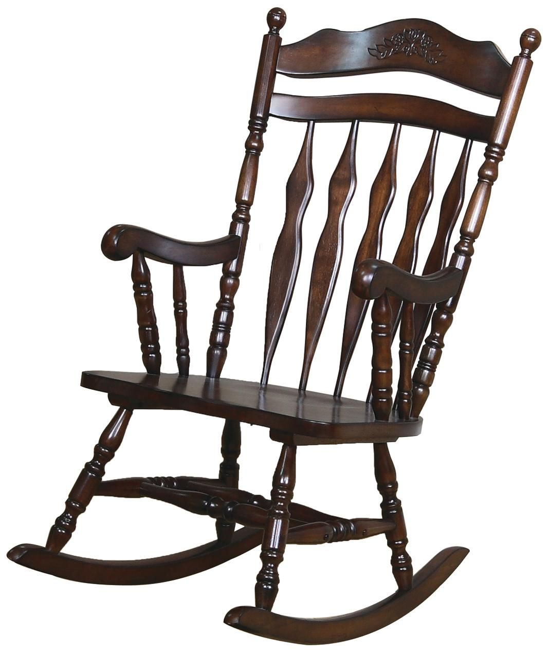 Inspiration about Wooden Rocking Chairs For Sale | Stühle | Schaukelstuhl Within Madrone Windsor Country Style Rocking Chairs (#10 of 20)