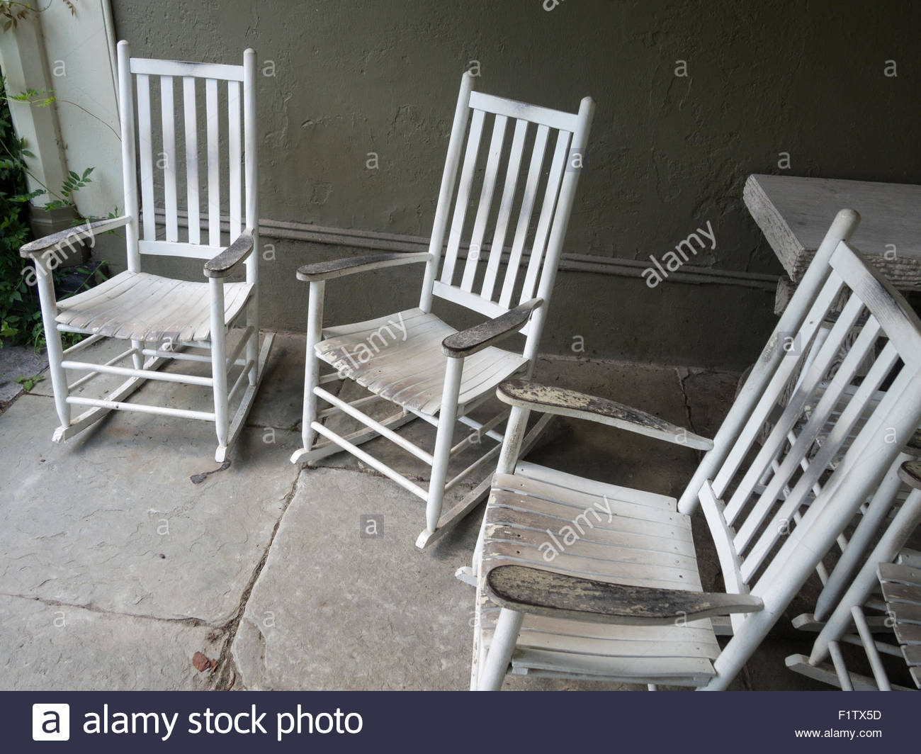Inspiration about Wooden Rocking Chairs Stock Photos & Wooden Rocking Chairs Regarding White Wood Rocking Chairs (#16 of 20)