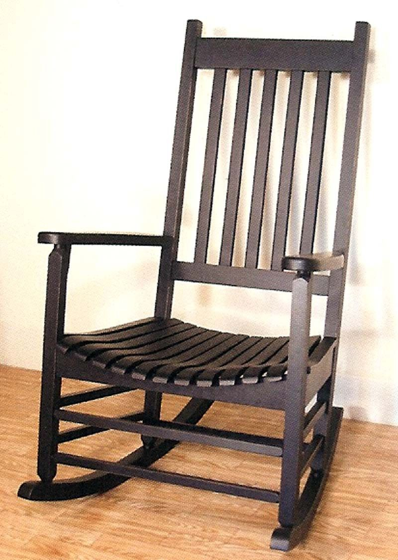 Inspiration about Wwr51866) Antique Black Hardwood Outdoor Rocker In 2019 In Rosewood Traditional Dark Oak Rocking Accent Chairs (#14 of 20)