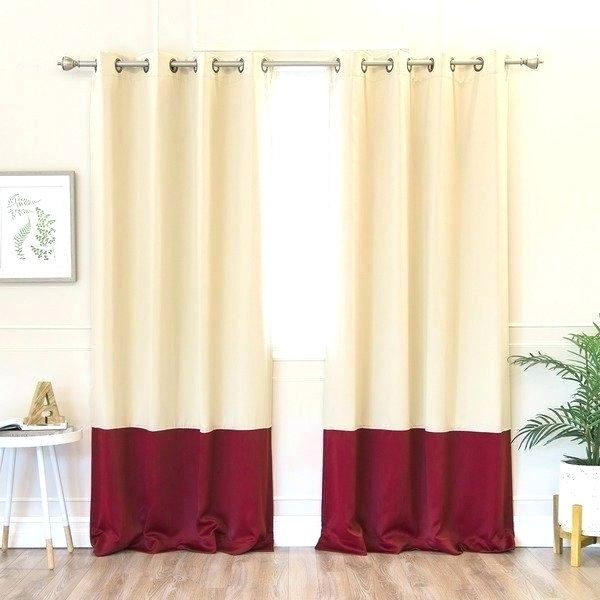 100 Inch Length Curtains – Mynewfamily Pertaining To Solid Insulated Thermal Blackout Long Length Curtain Panel Pairs (View 48 of 50)