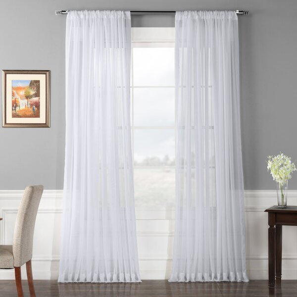 100 Inch Wide Curtain Panels | Wayfair (View 17 of 36)