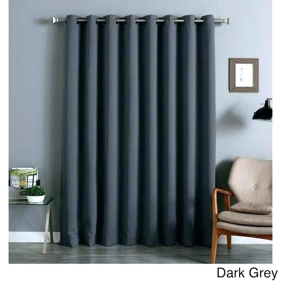 100 X 84 Curtains Thermal Blackout Patio Door Curtain Panel With Regard To Signature Extrawide Double Layer Sheer Curtain Panels (#2 of 50)