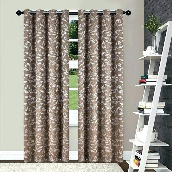 108 Curtain Panel Pair – Playallthegames For Superior Solid Insulated Thermal Blackout Grommet Curtain Panel Pairs (#1 of 45)