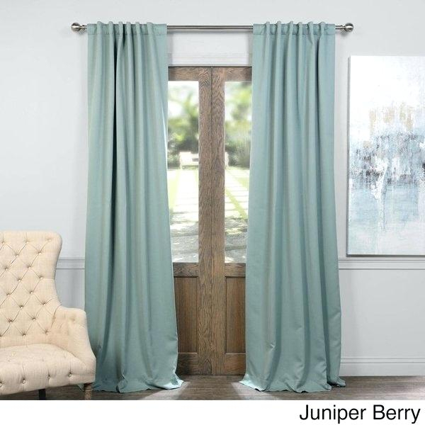 108 Curtain Panels Long Sheer Curtains Outdoor Inch Patio Regarding Solid Insulated Thermal Blackout Long Length Curtain Panel Pairs (View 43 of 50)