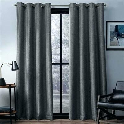 108 Curtain Panels Long Sheer Curtains Outdoor Inch Patio Within Woven Blackout Curtain Panel Pairs With Grommet Top (#1 of 42)
