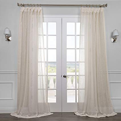 108 Sheer Curtain – Taxchat With Ombre Faux Linen Semi Sheer Curtains (#1 of 50)