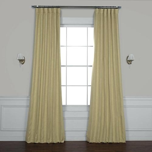120 Blackout Curtains Blackout Curtains Gallery Aurora Home Throughout Thermal Insulated Blackout Grommet Top Curtain Panel Pairs (#1 of 50)