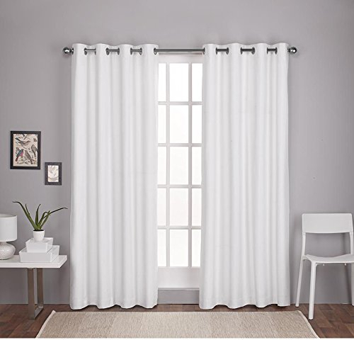 17 Most Wanted Textured Curtains Inside Thermal Textured Linen Grommet Top Curtain Panel Pairs (View 3 of 42)