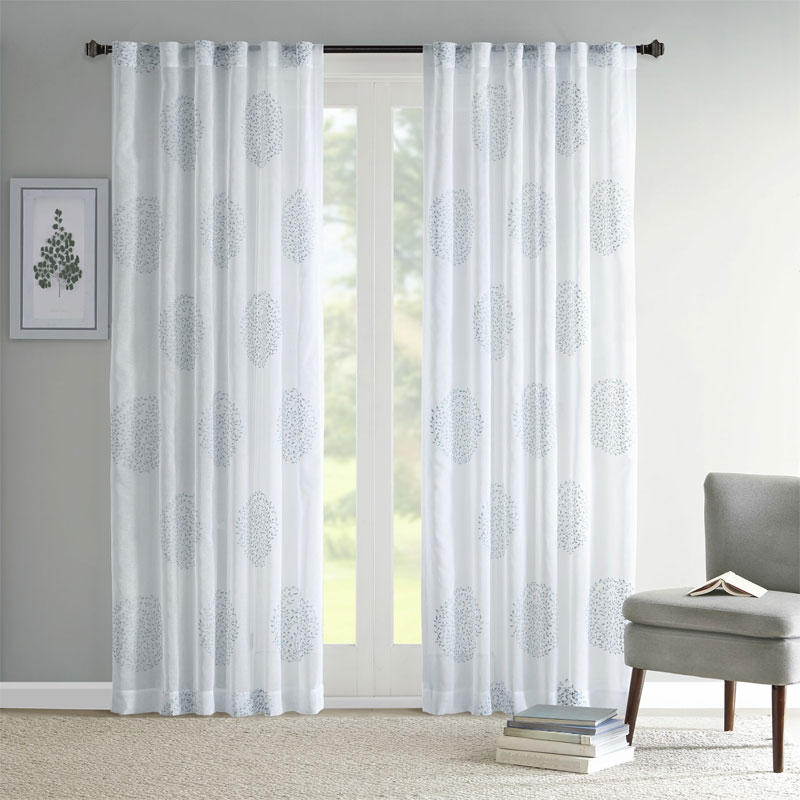 18 Beautiful Curtains For Sliding Glass Door Inside Double Layer Sheer White Single Curtain Panels (View 6 of 50)