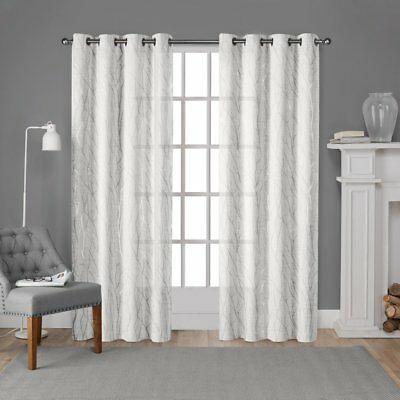 2 Gold Panels Thick 99% Linen Blackout Grommet Window Throughout Sugar Creek Grommet Top Loha Linen Window Curtain Panel Pairs (View 21 of 50)