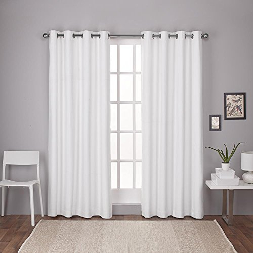 22 Best White Living Room Sets | Catalogue Of Furniture Inside Wilshire Burnout Grommet Top Curtain Panel Pairs (#1 of 45)