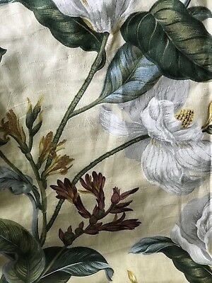 Inspiration about 3 New Dkny Wildflower Field Blue Black Green Window One In Gray Barn Dogwood Floral Curtain Panel Pairs (#46 of 48)