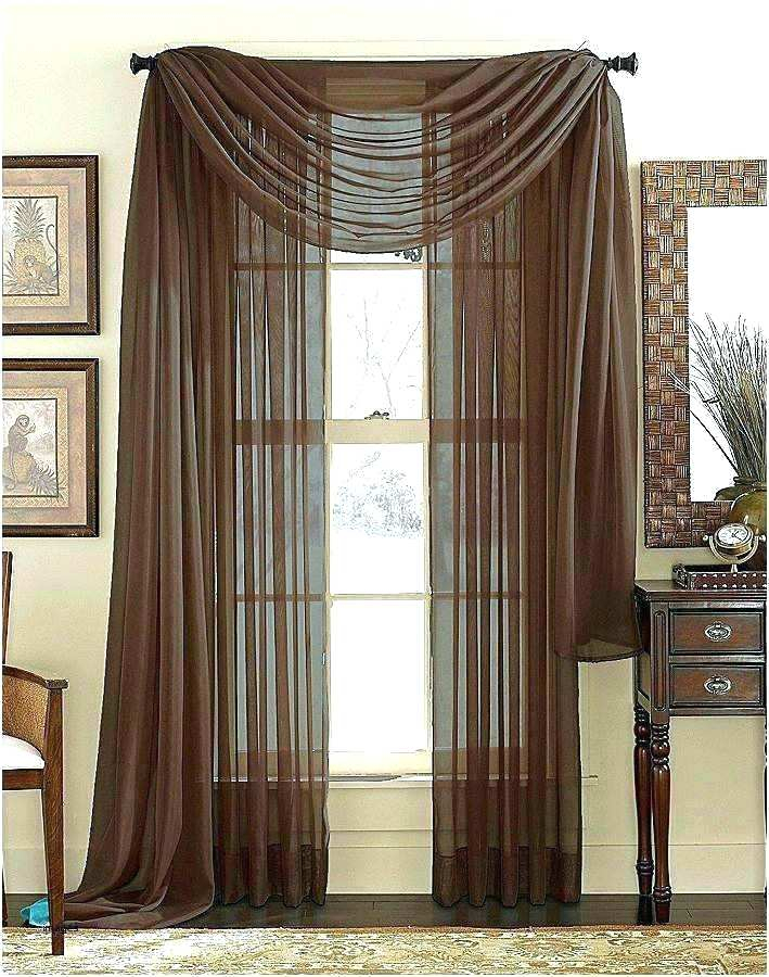 Inspiration about 36 Inch Window Curtains Pertaining To Classic Hotel Quality Water Resistant Fabric Curtains Set With Tiebacks (#42 of 50)