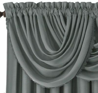 4 Dusty Blue Panel Silk Blackout Heavy Thick Grommet Window With All Seasons Blackout Window Curtains (View 1 of 48)