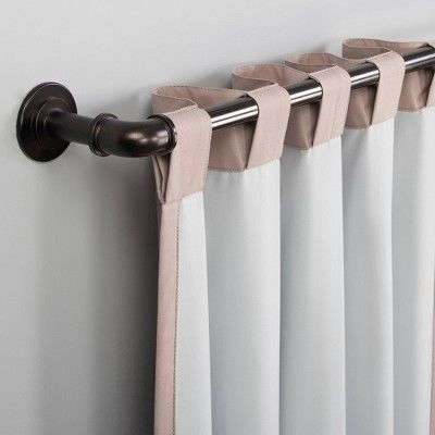 """40""""x63"""" Cyrus Thermal 100% Blackout Back Tab Curtain Panel Intended For Cyrus Thermal Blackout Back Tab Curtain Panels (#2 of 39)"""