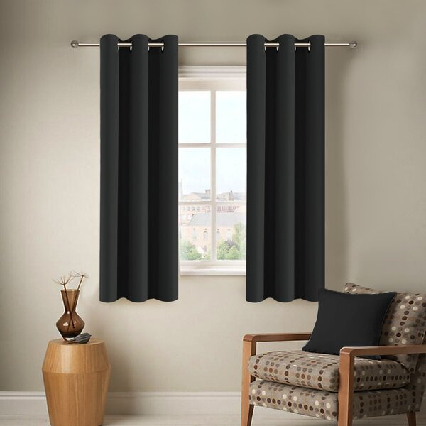 45 Inch Length Curtains | Wayfair Within Luxury Collection Cranston Sheer Curtain Panel Pairs (View 2 of 42)