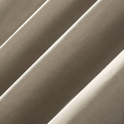 """50""""x95"""" Duran 100% Blackout Thermal Insulated Grommet Top Within Duran Thermal Insulated Blackout Grommet Curtain Panels (#2 of 29)"""