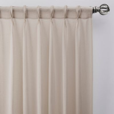 "52""x63"" Washed Cotton Twist Tab Curtain Oatmeal – Archaeo In Archaeo Washed Cotton Twist Tab Single Curtain Panels (View 5 of 21)"