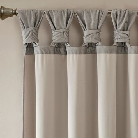 "52""x63"" Washed Cotton Twist Tab Curtain Oatmeal – Archaeo With Archaeo Washed Cotton Twist Tab Single Curtain Panels (View 6 of 21)"