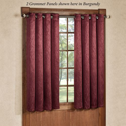 Inspiration about 54 Inch Length Blackout Curtains | Flisol Home In Ultimate Blackout Short Length Grommet Curtain Panels (#11 of 50)