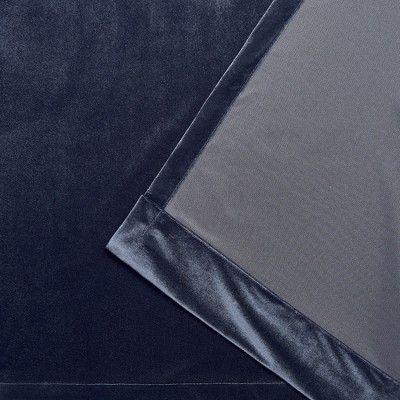 "Inspiration about 54""x63"" Velvet Heavyweight Grommet Top Window Curtain Panel Inside Velvet Heavyweight Grommet Top Curtain Panel Pairs (#10 of 42)"