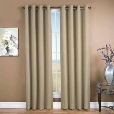 Inspiration about 55.5 – 58.5 – Blackout Curtains – Curtains & Drapes – The Within Ultimate Blackout Short Length Grommet Panels (#30 of 50)