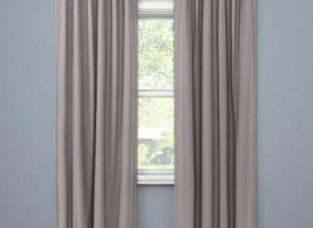 Inspiration about 58 Blackout Curtains Target, Kendall Thermaback Blackout Regarding Eclipse Corinne Thermaback Curtain Panels (#29 of 29)