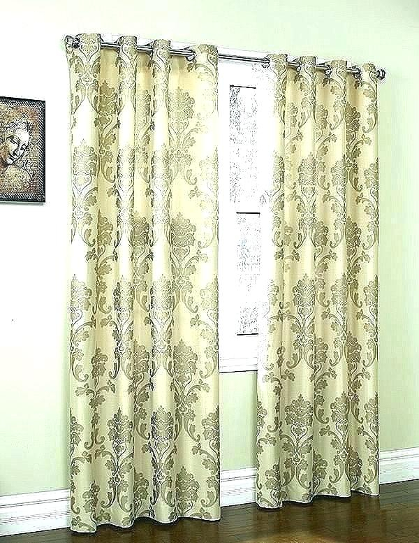 63 Grommet Curtain Panels Top Insulated Curtains Inch With Twig Insulated Blackout Curtain Panel Pairs With Grommet Top (#4 of 50)
