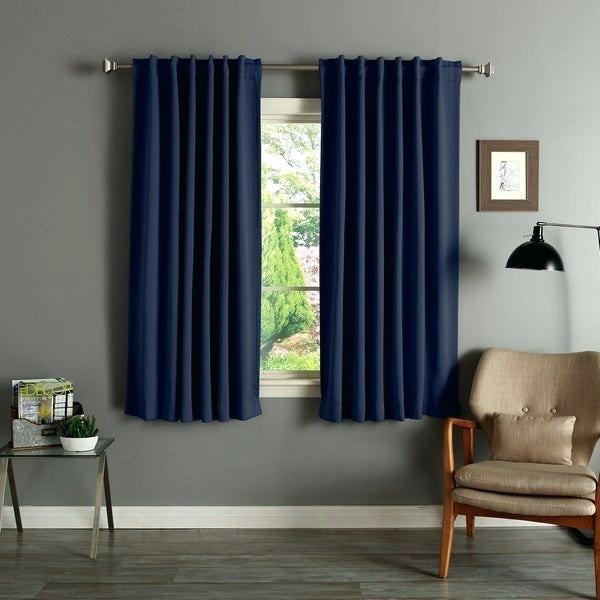 63 Inch Blackout Curtains – Fakesartorialist Pertaining To Sateen Twill Weave Insulated Blackout Window Curtain Panel Pairs (View 27 of 29)