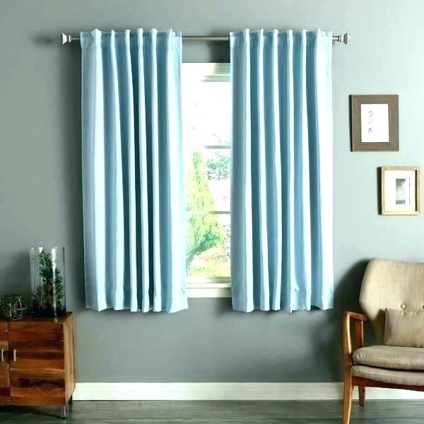 63 Inch Blackout Curtains – Fakesartorialist Pertaining To Solid Insulated Thermal Blackout Long Length Curtain Panel Pairs (View 15 of 50)