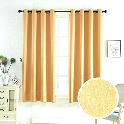 63 Length Curtains Inch Long Curtains Home Weave Texture Within Solid Insulated Thermal Blackout Long Length Curtain Panel Pairs (View 47 of 50)