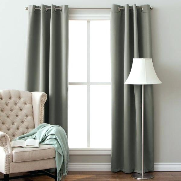 64 Inch Curtains – One Balmoral In Insulated Grommet Blackout Curtain Panel Pairs (View 6 of 50)