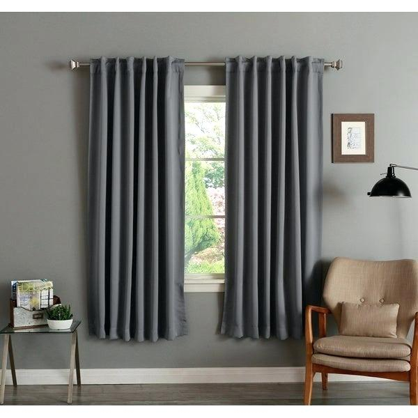 72 Inch Blackout Curtains – Saltcityphoto With Regard To Thermal Rod Pocket Blackout Curtain Panel Pairs (#4 of 50)