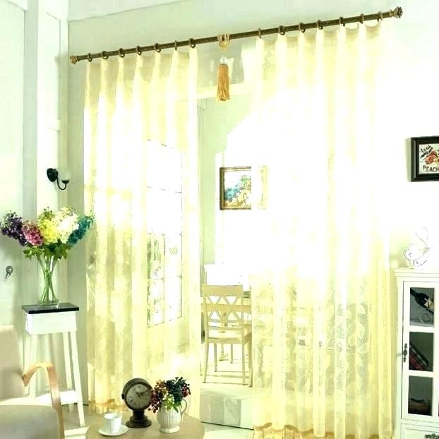 72 Inch Long Curtains – Fakesartorialist Inside Wavy Leaves Embroidered Sheer Extra Wide Grommet Curtain Panels (#3 of 50)