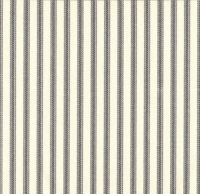 "84"" Curtain Panels, Unlined, French Country Brindle Gray Ticking Stripe Regarding French Linen Lined Curtain Panels (View 3 of 50)"