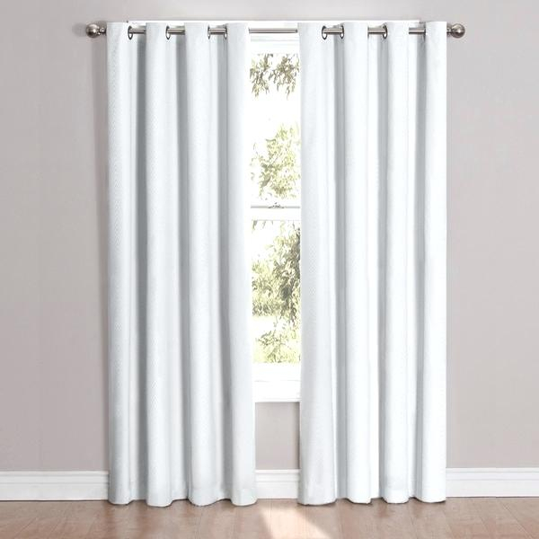84 Inch Blackout Curtains Blackout Grommet Window Curtain For Meridian Blackout Window Curtain Panels (#5 of 50)