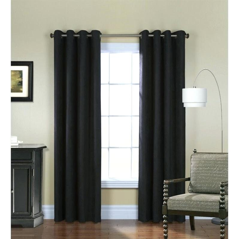 84 Insulated Curtain Panels Inch White Sheer Panel 2 X Throughout Insulated Cotton Curtain Panel Pairs (#4 of 50)
