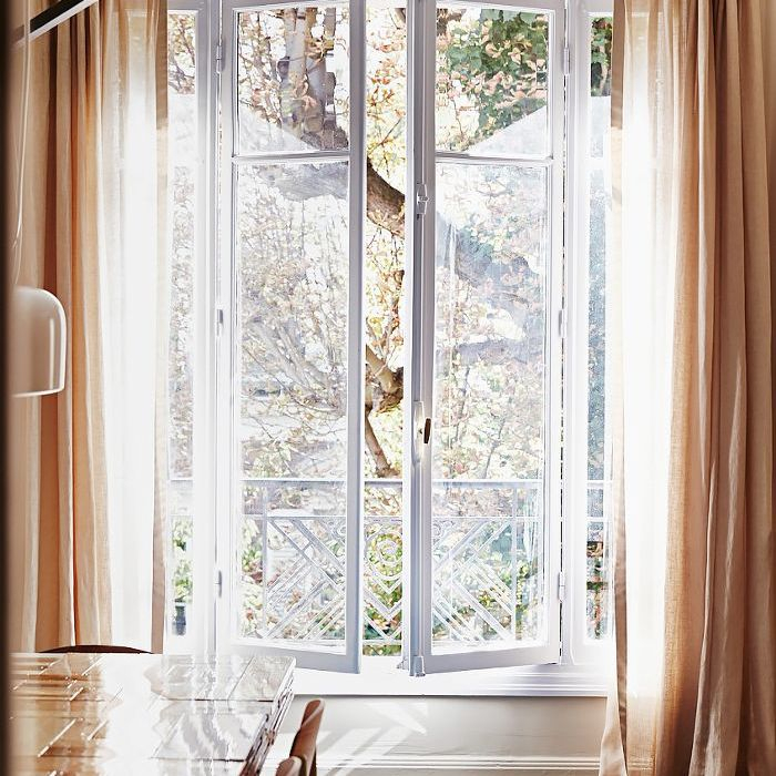 Inspiration about 9 Must Know Rules For Hanging Window Curtains And Shades With Linen Button Window Curtains Single Panel (#13 of 40)