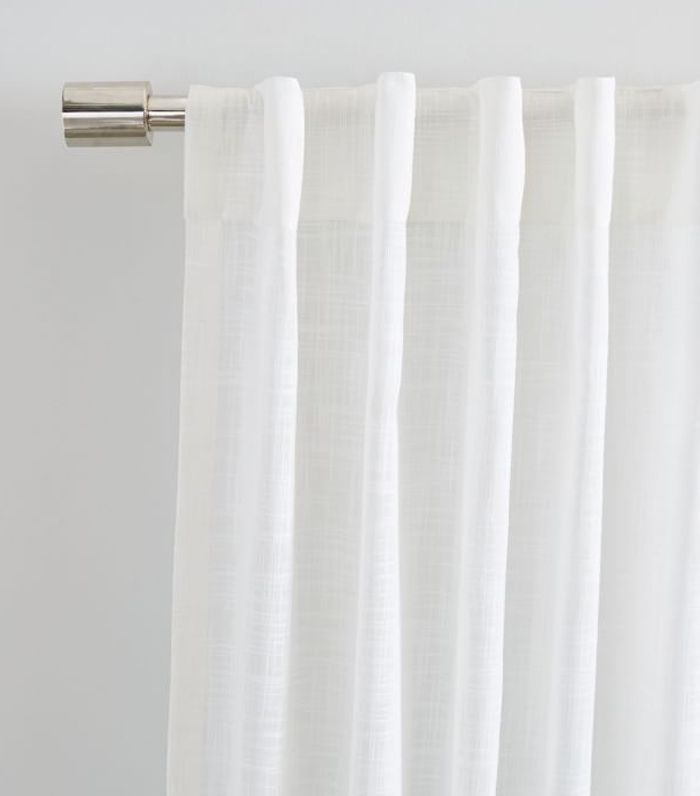 Inspiration about 9 Must Know Rules For Hanging Window Curtains And Shades With Regard To Double Layer Sheer White Single Curtain Panels (#26 of 50)