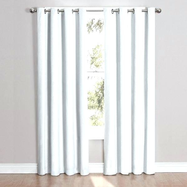 Inspiration about 95 Curtain Panels Inch Aurora Home Tab Top Thermal Insulated With Grommet Top Thermal Insulated Blackout Curtain Panel Pairs (#46 of 50)