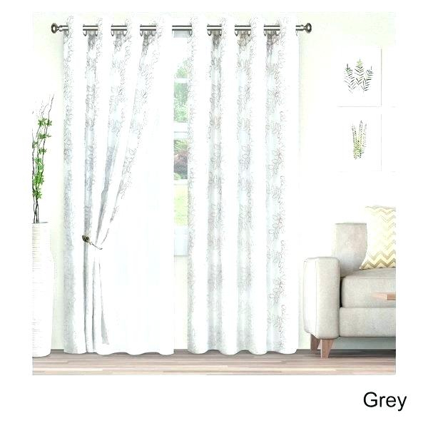 95 Inch Outdoor Curtains – Keplerspaceuniversity Intended For Knotted Tab Top Window Curtain Panel Pairs (#1 of 50)