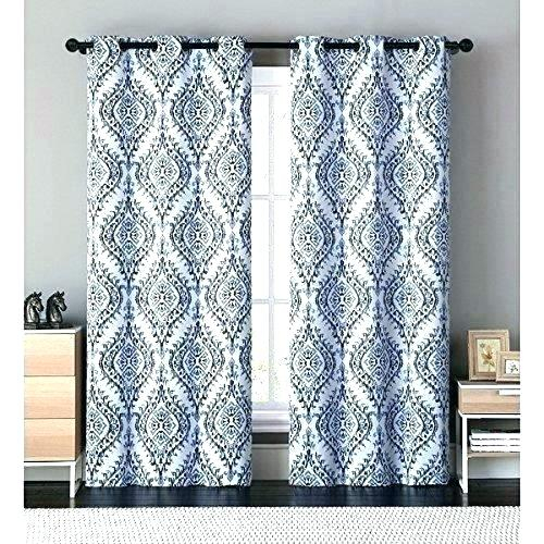 Inspiration about 96 Curtain Panels – Gujanclubsseries Within Baroque Linen Grommet Top Curtain Panel Pairs (#43 of 48)