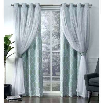 Inspiration about 96 Curtain Panels – Unitedseas For Baroque Linen Grommet Top Curtain Panel Pairs (#46 of 48)