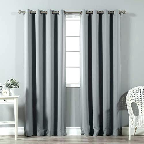 96 Curtain Panels – Weloveyew Within Raw Silk Thermal Insulated Grommet Top Curtain Panel Pairs (#6 of 46)