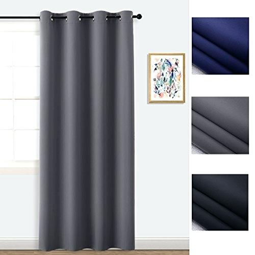 96 Inch Curtain Panels Midsummer Town Blackout Curtains Regarding Solid Cotton Curtain Panels (View 29 of 47)