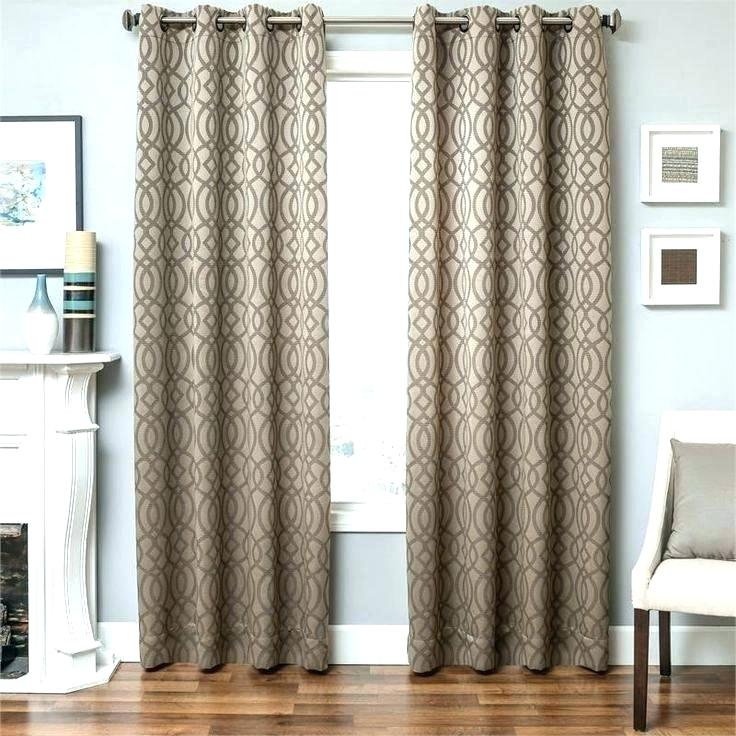 96 Inch Drop Curtains Throughout Lambrequin Boho Paisley Cotton Curtain Panels (#2 of 41)