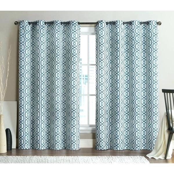 96 Inch Grommet Curtains – Jelajah Inside Penny Sheer Grommet Top Curtain Panel Pairs (#5 of 49)