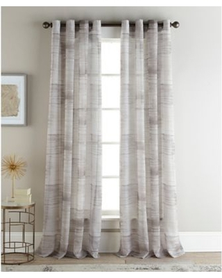 96 Inch Sheer Curtain Panels – Humanetalk Inside Wilshire Burnout Grommet Top Curtain Panel Pairs (#6 of 45)