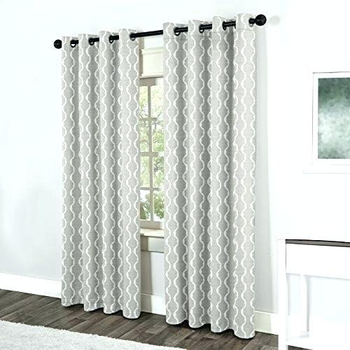 Inspiration about 96 Length Curtains – Aconsciouslife.co In Baroque Linen Grommet Top Curtain Panel Pairs (#4 of 48)